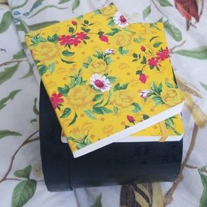 2 MCM Small Notebooks ,,floral print with MCM logo
